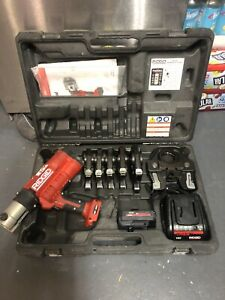 Ridgid Brand Propress Crimper Set Model Rp340 6 Jaws 1 2 Through 2