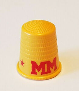 Vintage Minneapolis Moline Tractor Farm Industrial Machinery Sewing Thimble