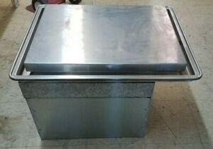 Atlas Metal Salad Ice Cream Frost Top Refrigerated Wf 2 With Marble Top Working