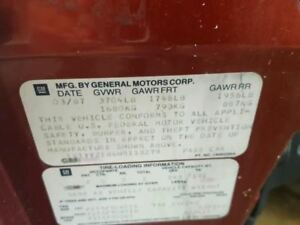 Engine 8 350 5 7l Base Vin 8 8th Digit Fits 86 91 Corvette 928949
