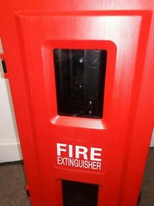 Red Fire Extinguisher Box Waterproof new Fire Tech Brand