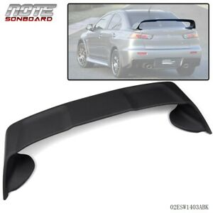 For 2008 2017 Mitsubishi Lancer Evo10 4 Door Rear Spoiler Wing Factory