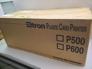 Eltron P500c 120385 011 Thermal Card Printer With Lamination