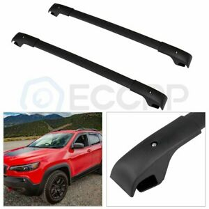 For 2016 2017 Jeep Cherokee Top Roof Rack Cross Bars Cargo Storage Well Made