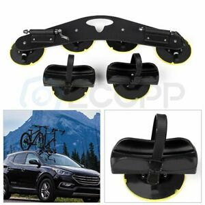 1 Set 2 Bicycle Suction Carrier Roof Top Quick Installation Roof Rack Aluminum