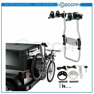 Well Made Car Roof Rear Bicycle Carrier Rack Two Bikes Spare Tire Mounted Bike