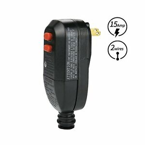 Replacement Plug Assembly Rcd Protection Pool Pump Power Pressure Washer 15amp