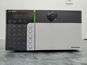 Shimadzu Hplc Prominence Lc 20at Solvent Delivery Pump