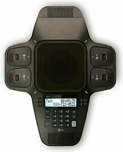 At t Sb3014 Dect 6 0 Conference Speakerphone With Four Wireless Microphones