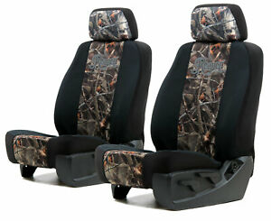 Neoprene Reaper Buck Camo Seat Covers For A Pair Of Low Back Bucket Seats