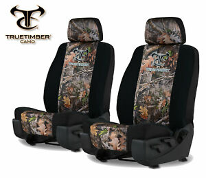 Neoprene Camo Universal Fit Seat Covers For A Pair Of Low Back Bucket Seats