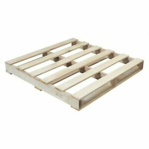 Partners Brand Cpw4040h New Wood Heat Treated Pallet 40x40 natural Wood pk10