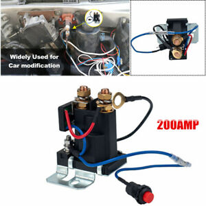 12v 200 Amp Battery Isolator Relay 4 Terminal Dual Battery Auto Increase Battery