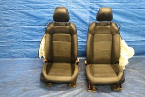 2018 Ford Mustang Gt 5 0 Coyote V8 Oem Leather Front Seats damage 1238