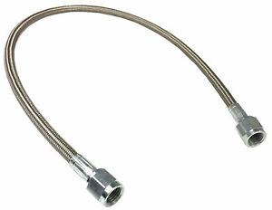 3 An 30 Stainless Braided Ptfe Brake Line Straight Ends 3 Hose