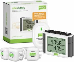 Power Energy Monitor Elite Wireless Three phase Pack Voltage Electricity Amp New