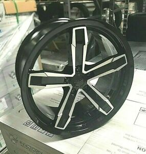 20 10 11 Iroc Z Wheels Rims Black Machine Fits For Camaaro 10 20