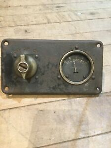 Rat Rod Ford Dodge Chevy Rio Truck Car Dash Amp Gauge Ignition Switch Vintage