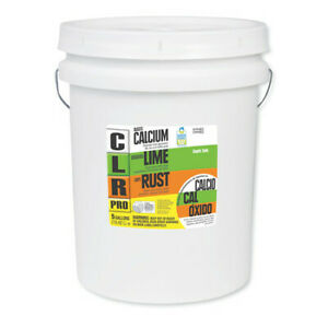Clr Pro Cl 5pro Calcium Lime And Rust Remover 5 Gal Pail