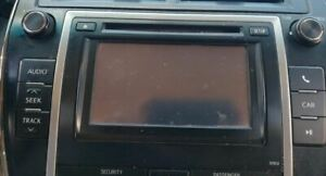 Audio Equipment Radio Display And Receiver Am fm cd Fits 12 Camry 568306