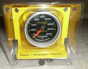 New Auto Meter Transmission Temperature 2 5 8 Trans Temp Gauge Can
