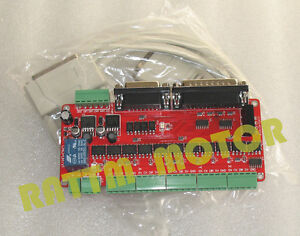 5 Axis Cnc Mach3 Breakout Board Parallel Controller Card For Cnc Router Machine