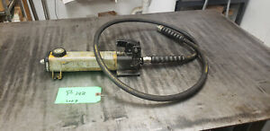 Enerpac P 141 10k Single Speed Hydraulic Hand Pump W Hose Lot 3 Shelf S5