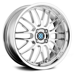 4x100 17 Inch Wheel Rim Beyern Mesh 17x7 27mm Chrome