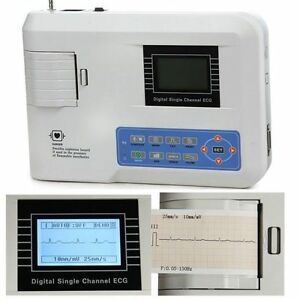 Contec Ecg100g 1 channel 12 lead Ecg ekg Fda New Shipped And Serviced From Usa