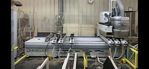 2005 Busellato Jet 130 Cnc Point To Point Router Machining Center