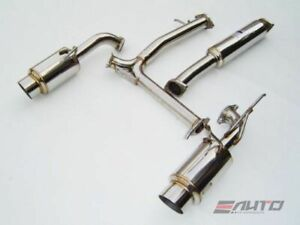 Invidia N1 Dual Stainless Tip Catback Exhaust For Nissan 350z 03 09 Z33 Fairlady