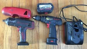 Snap on 1 2 Ct4850 18v Cordless Impact 1 2 Drill Cdr3850 Battery Charger