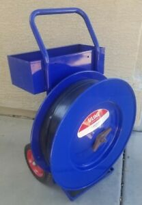 Uline Industrial Strapping Cart H 39 16 Core Steel Or Poly Strapping