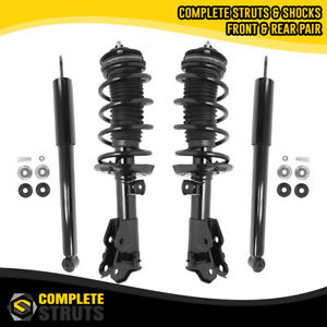 Front Complete Struts Rear Shock Absorbers For 2012 2015 Honda Civic Coupe