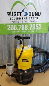 2 Submersible Trash Pump 115v 60gpm Pond Pump Drainage