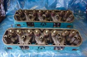 Mopar 340 X Heads Ported New Valves Springs Dodge Plymouth