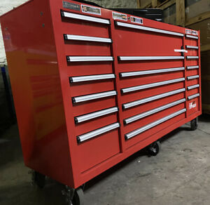 H2pro 72 Tool Box 21 Drawer Rolling Cabinet Heavy Duty Tool Chest