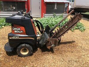 2010 Ditch Witch Trencher R230 With Kohler Command Pro 23 500 Hours