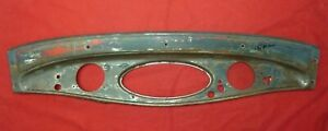 1932 Ford Dash Panel Original Henry Steel Outie W Stainless Trim Ring Dashboard