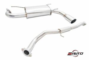 Megan 3 Stainless Tip Oe Rs Catback Exhaust For Mazdaspeed Miata Mx5 Mx 5 04 05