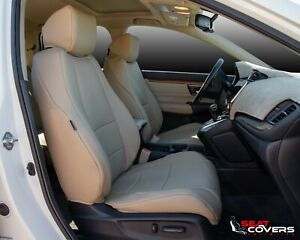 Custom Fit Leatherette Front Seat Covers For The 2013 2017 Honda Accord