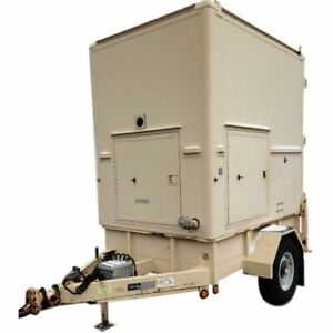 Used Enclosed Utility Trailer W Pintle Hitch 6000gvw