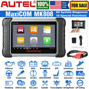 Autel Mk808 Automotive Obd2 Scanner Code Reader All Systems Diagnostic Scan Tool