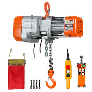 Prowinch 1 2 Ton Electric Chain Hoist With Wireless Remote Control System Single