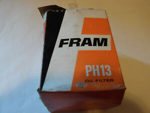 Vintage 1968 Fram Ph13 Oil Filter 1968 1976 Chevrolet 327 350 396 427 454 400