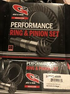 G2 Axle Gear Performance Ring And Pinion Set 4 88 Ratio For Toyota 8 Reverse