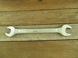 Vtg Hazet 450 Double Open End Wrench 17 19 Chrom Vanadium Made In Germany