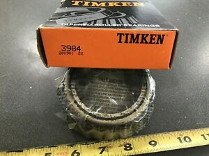 Timken 3984 Tapered Roller Bearing Cone 2 625 Id 1 183 Width new free Ship