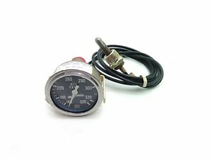 Stewart Warner Oil Temp Gauge 140 325 2 1 2 Diameter 692 Al 72