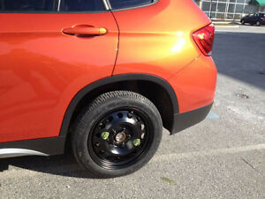 Mini Cooper Countryman Paceman Spare Tire Wheel 17 Donut 5 Lugs